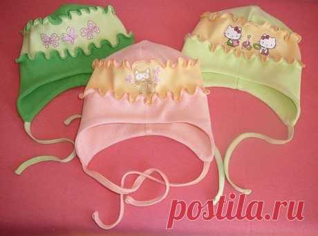 Выкройка трикотажной шапочки для малыша (Шитье и крой) – Журнал Вдохновение Рукодельницы