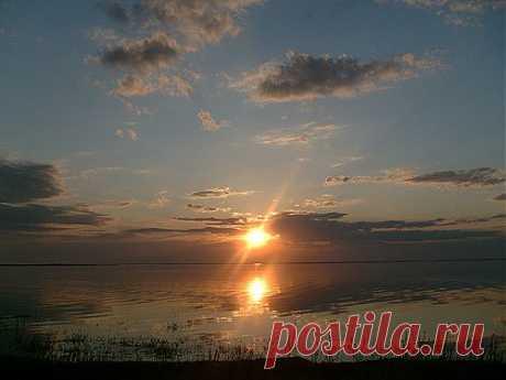 Ильмень-озеро.