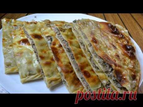 Дагестанское ЧУДУ с мясом и картошкой 🧇 ОЧЕНЬ СОЧНО И ВКУСНО 😋