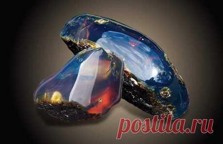 Необыкновенный голубой янтарь | Драго-камень | Яндекс Дзен