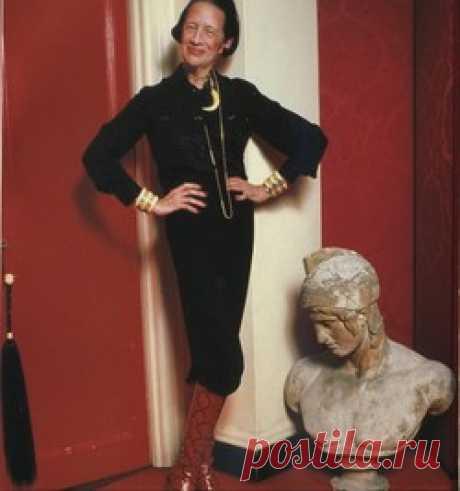 Диана Вриланд: икона стиля