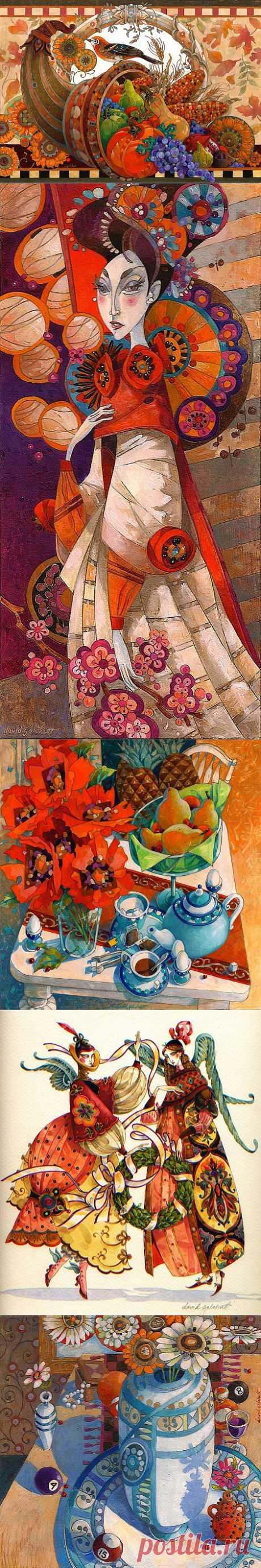 Блоги@Mail.Ru: Декоративные работы Devida Galchutt