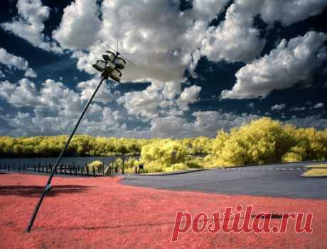 Потрясающие инфракрасные фотографий от Гелиоса Спада