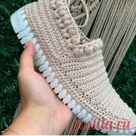 Идеи для вязания обуви .