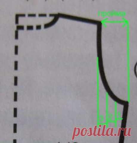 Вязание пройм. Расчет петель для вывязывания пройм.
