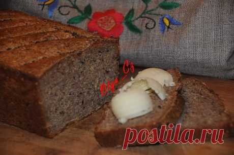 Ржаной хлеб на закваске   4vkusa.ru