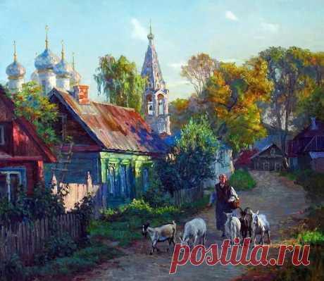Современная художница Диана Коробкина
