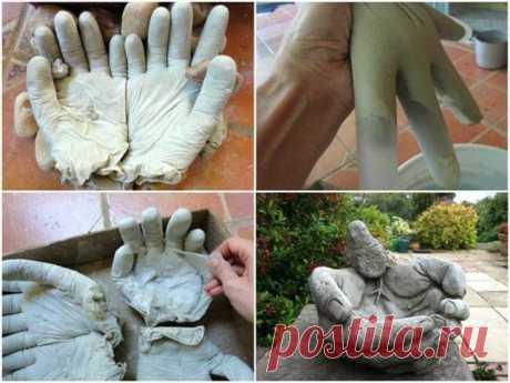 Садовые фигурки из бетона своими руками