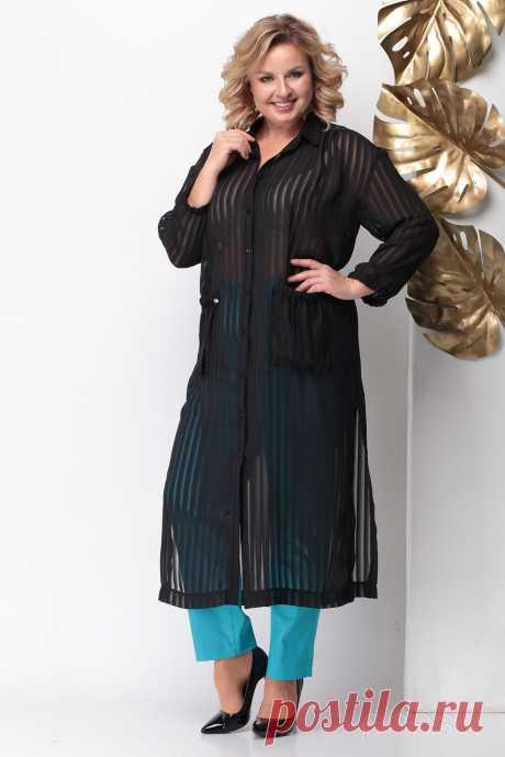 Туника Michel Chic 743 черный - Белорусская Одежда