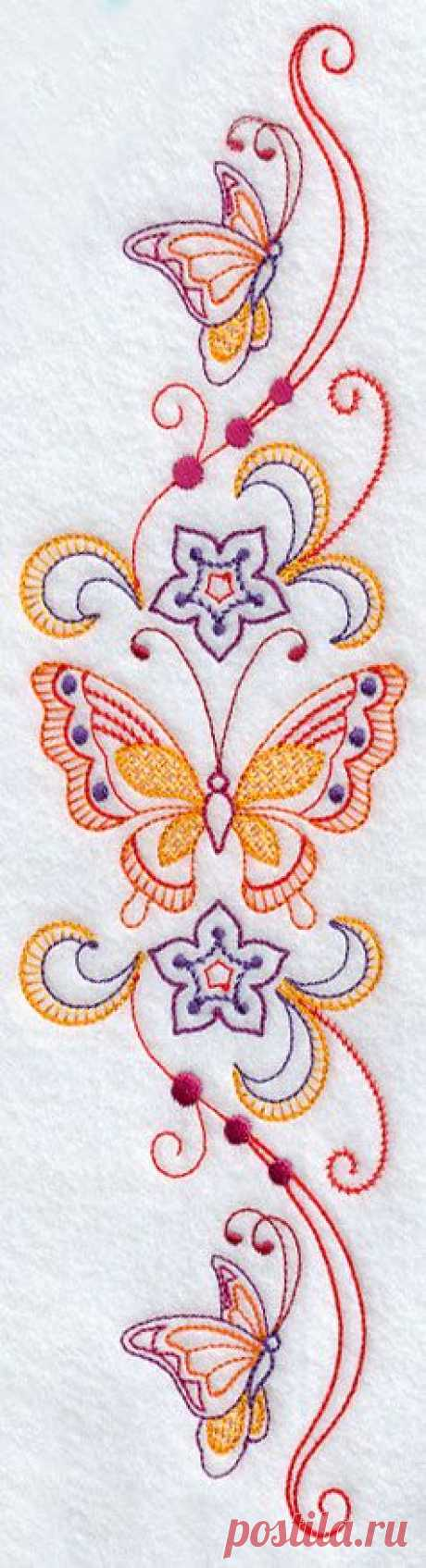 Butterfly pillowcase design | Pinterest: the tool for search and storage of interesting ideas