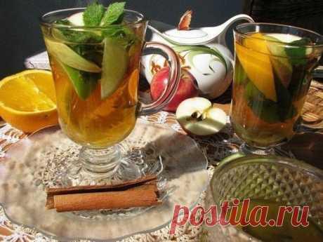 5 лучших рецептов зимнего чая.