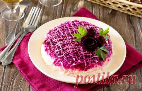 Салат «Шуба без селедки» — как. Очень легко Салат «Шуба» можно смело приготовить без селедки.