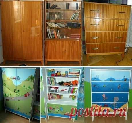 Детская мебель из советской