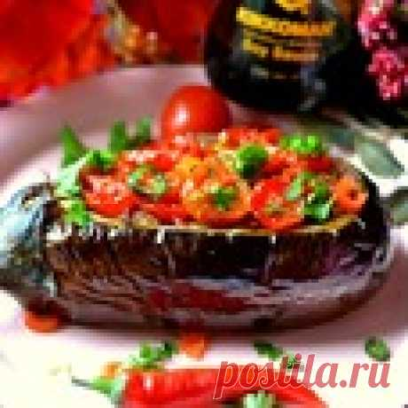 Баклажаны фаршированные - кулинарный рецепт