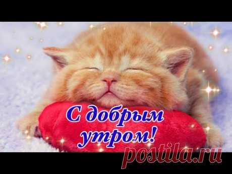 С Добрым Утром! Счастье Это Просто Жить День Встречая!Веселая Музыка!Музыкальная Открытка Пожелание!