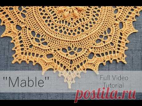 """""""Mable"""" Video Tutorial {Master Class} -- Pattern by Grace Fearon - YouTube"""