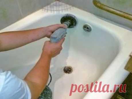 Старая ванна как новая! Реставрируем старую ванну | Своими руками