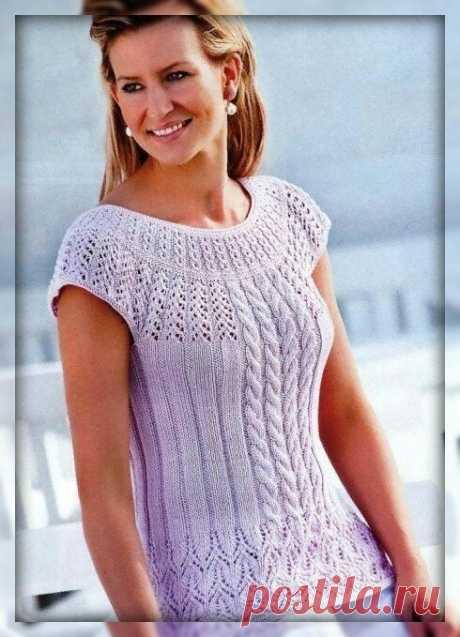 Вязание. Что самое необходимое для женщины летом? Топики — самая простая вязаная одежда. Подборка, схемы, описание. | 101 СЕКРЕТ | Яндекс Дзен