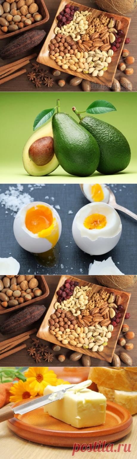 Полезные жирные продукты — Делимся советами