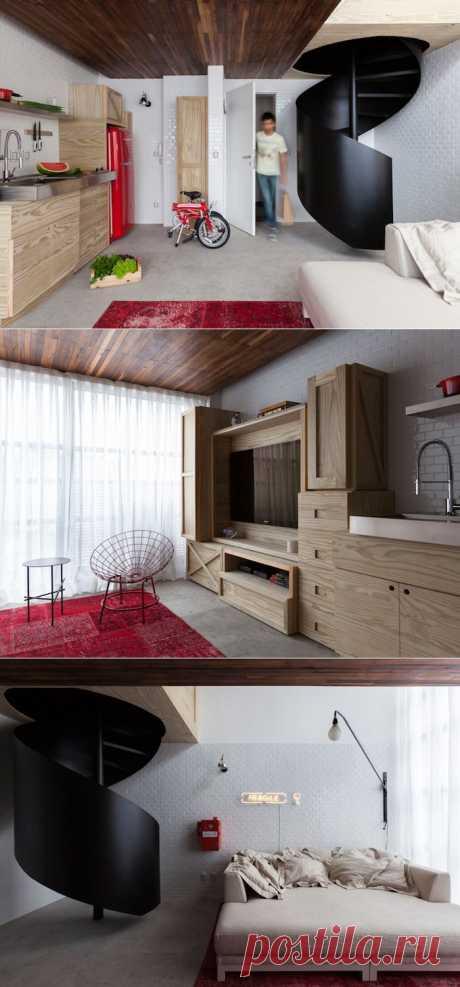 Алан Чу (Alan Chu). Квартира перемен : «Д.Журнал» — журнал о дизайне и архитектуре