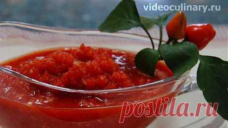 Соус из болгарского перца - Видеокулинария.рф - видео-рецепты Бабушки Эммы | Видеокулинария.рф - видео-рецепты Бабушки Эммы