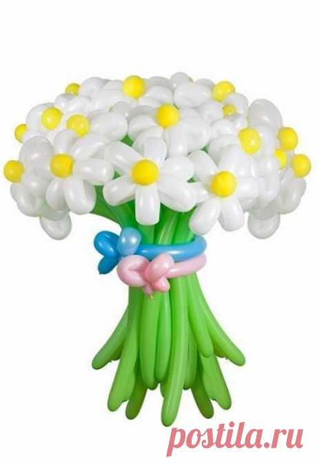 👌 Цветы из воздушных шаров, увлечения и хобби Если стоит вопрос о подарке для женщины, то, конечно же, нет ничего приятней для нее, чем букет цветов. Но есть те, у которых аллергия на них. Или же порой хочется чего-то новенько...