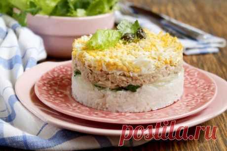 Салат из печени трески - 15 самых вкусных рецептов.