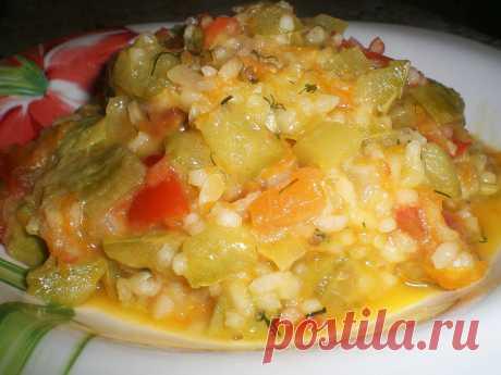 Овощное рагу с рисом – сытно, дешево и вкусно | Кастрюлька | Яндекс Дзен
