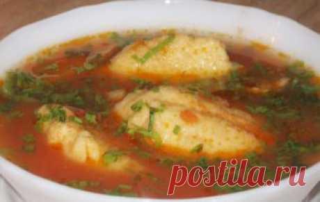 Борщ полтавский с галушками / Борщ / TVCook: пошаговые рецепты c фото