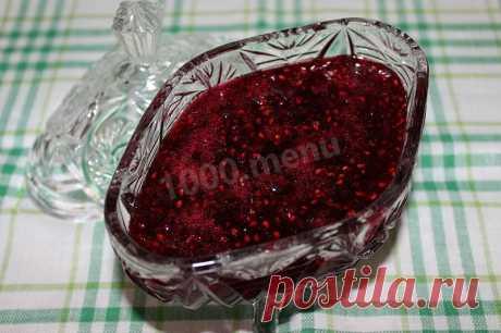 Малиновое варенье пятиминутка из малины рецепт с фото пошагово - 1000.menu