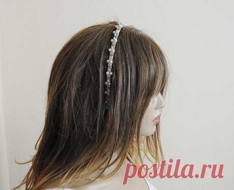 wedding tiara Wedding Crown bridal headpiece Bridal by selenayy