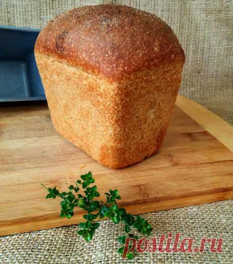 Лабиринты вкуса: Хлеб пшеничный на ржаной закваске