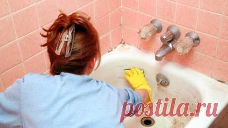 Идеальная уборка: Убираем ржавчину и налет с любых поверхностей за полминуты | Тысяча и одна идея Девчонки, раскрою вам секрет. Моя ванна и туалет просто сверкают, а всё благодаря новому чистящему средству, которое я для себя открыла.