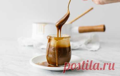Соленая карамель на кокосовом молоке - кулинарный пошаговый рецепт с фото • INMYROOM FOOD