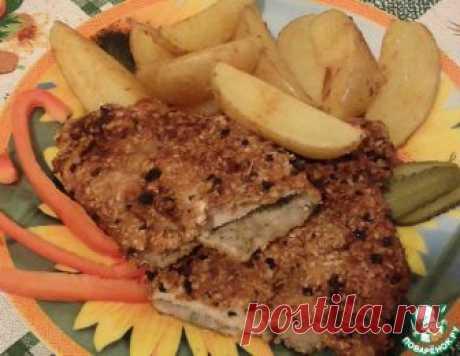 Сочный свиной шницель – кулинарный рецепт