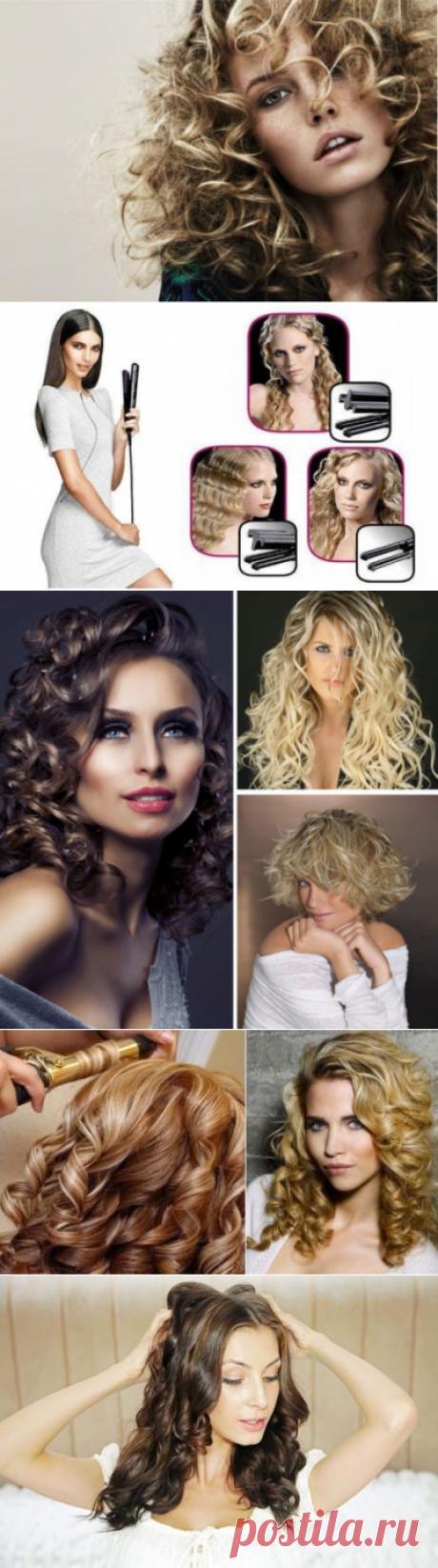 Como hacer los rizos hermosos a los cabellos medios en las condiciones de casa