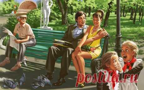 Художник из Нижнего Новгорода рисует задорных гражданок СССР и уже 10 лет зарабатывает на жизнь советским пинапом | Супер! | Яндекс Дзен