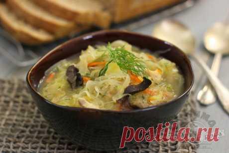 Суп, которому нет равных, щи с квашеной капустой