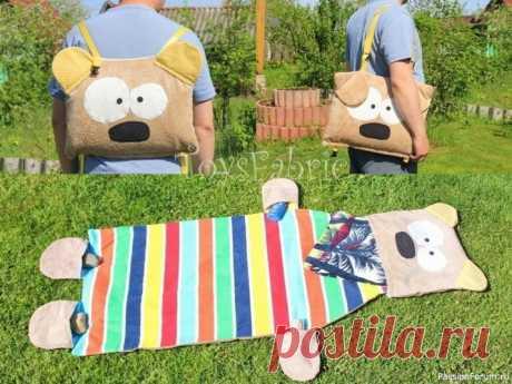 Пляжная сумка-коврик. Мастер-класс |
