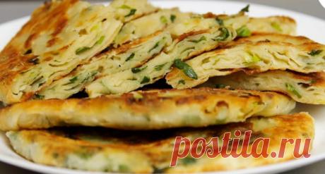 Слоёные лепёшки с луком – просто и вкусно! | еда и не только ! | Яндекс Дзен
