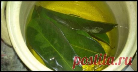 Целебный чай с лавровым листом для нормализации обмена веществ и похудения!