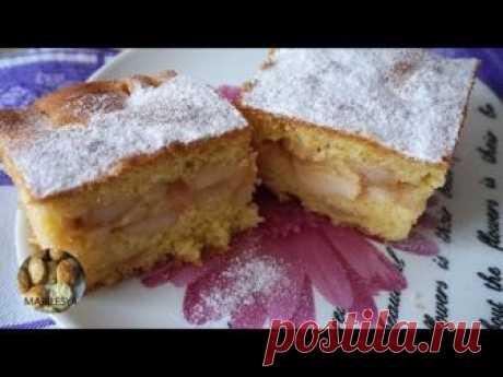ПИРОГ С ЯБЛОКАМИ/ Apple Cake