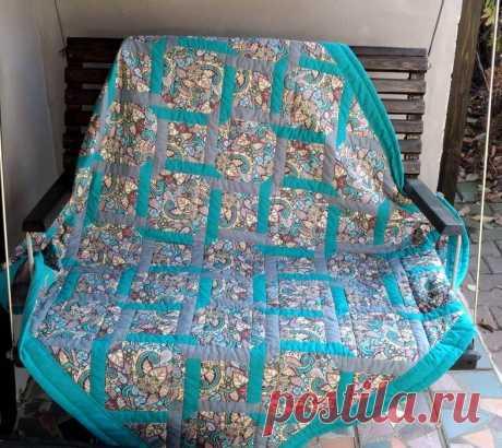Расход ткани на лоскутное одеяло: кейс и личный опыт.