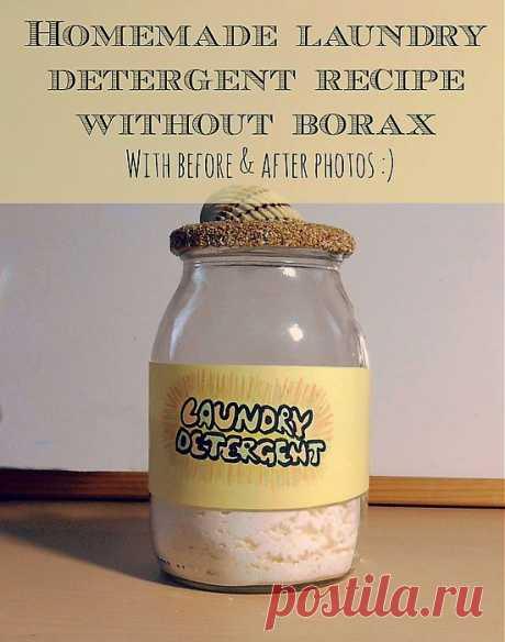Простой рецепт стирального порошка от So Crafty On Squidoo.