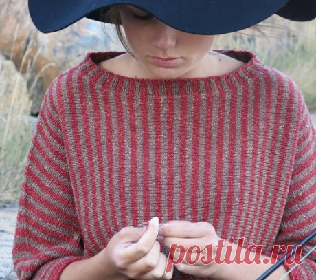 Вязаный пуловерVisser | ДОМОСЕДКА