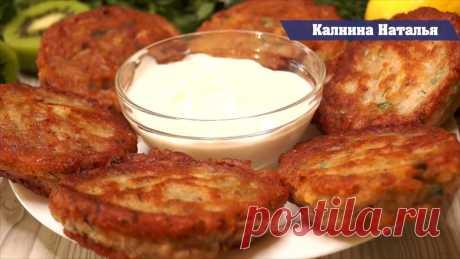 Оладьи из рыбной консервы - Рецепт от Натальи Калниной. Такой рецепт выручает когда нет совсем времени для приготовления ужина, подавать можно с любым овощным салатиком.