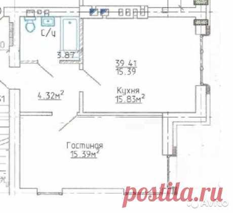 1-к квартира, 39 м², 2/3 эт. - купить, продать, сдать или снять в Калининградской области на Avito — Объявления на сайте Avito