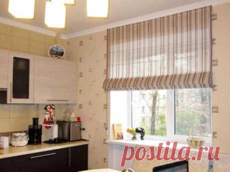 Римские шторы – идеальный вариант для интерьера. Фото примеры готовых вариантов