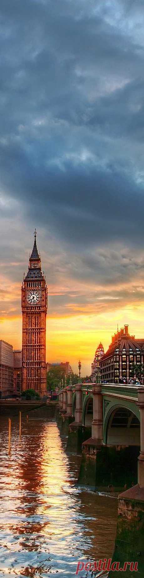Мне приснилось небо Лондона