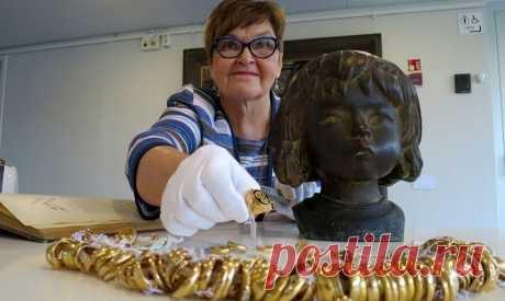 Найденный в скульптуре музея в Финляндии клад представят публике в сентябре | Культура и искусство